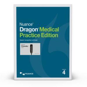 Dragon Medical Practice Edition 4 with PowerMic III